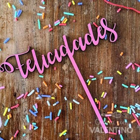 Topper Felicidades Grande