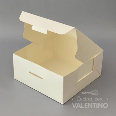 Caja Cartulina Delivery Sin Visor 22x22x10cm