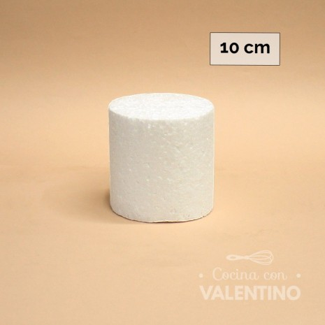Torta Falsa Telgopor MD 10 x 10 cm