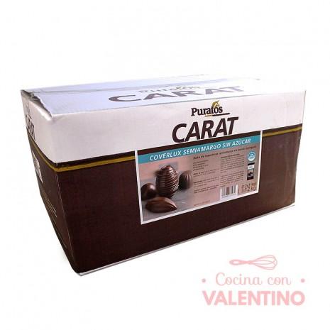 Baño de Moldeo Carat Coverlux S/A Sin Azucar x 1Kg - Pack 12 Un.