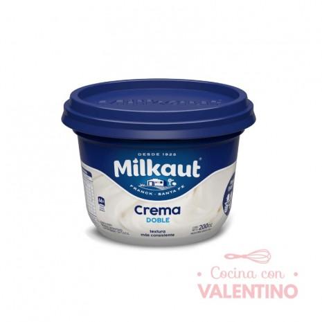 Crema de Leche Doble Milkaut x 200 cc