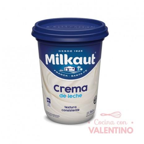 Crema de Leche Milkaut x 360 cc