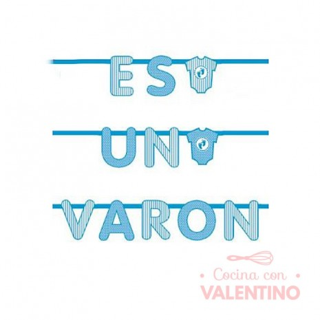 Banner Es un Varon 200x21.5x21.5 cm