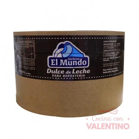 Dulce de Leche El Mundo - 5Kg