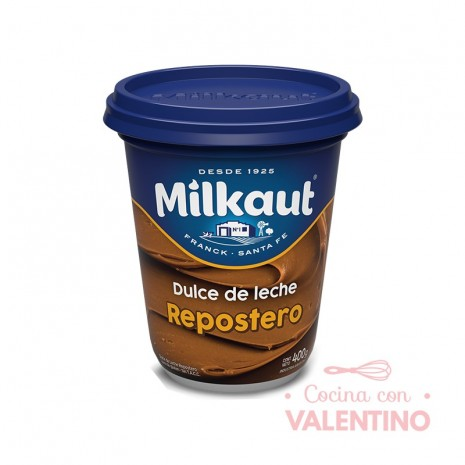 Dulce de Leche Repostero Milkaut x 400 grs