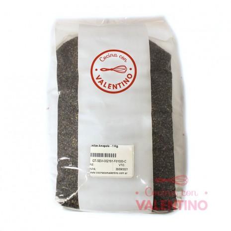 Semillas Amapola - 1 Kg.