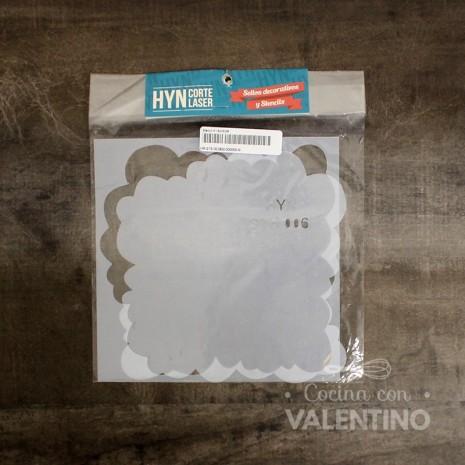 Stencil H 15x15CM