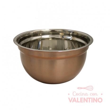 Bowl Cobre Navi Borde Acero Mishka - 17.5x9.5Cm