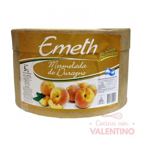 Mermelada de Durazno Repostera Emeth - 5Kg