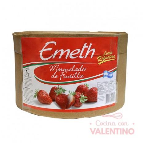 Mermelada de Frutilla Repostera Emeth - 5Kg