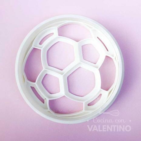 Cortante + Marcador Pelota de Futbol Ruphas