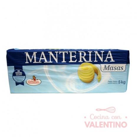 Margarina Masas Pilon Manterina - 5Kg