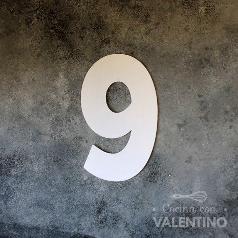 "Molde Stencil ""Classic"" Para Number Cake - 1 Unidad"