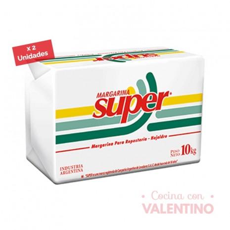 MargarinaHojaldreSuperCalsa-20 Kg.(2u)