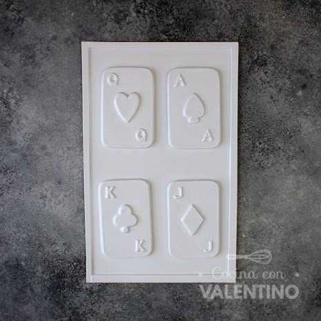 Placa Plastichok Naipes x4 1051A