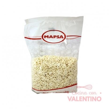 Chocolate Mapsa Granulado Repostero Blanco - 1 Kg.