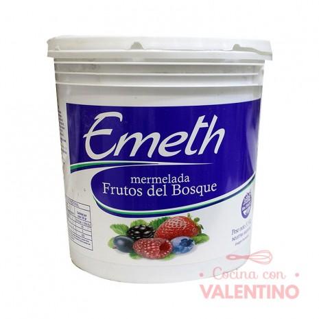 Mermelada de Frutos del Bosque en Balde Emeth - 5.5Kg