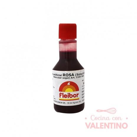 Colorante Fleibor Rosa - 30cc