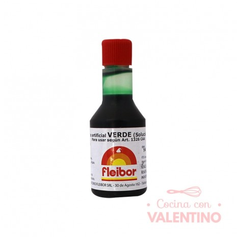 Colorante Fleibor Verde - 30cc