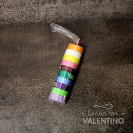 Cinta Varios Colores 10mm x 3.5m 10u