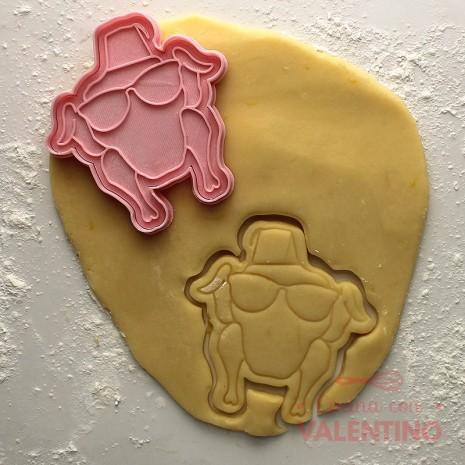 Cortante Pavo Friends Cookie Kutter