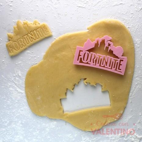 Cortante Logo Fortnite Cookie Kutter