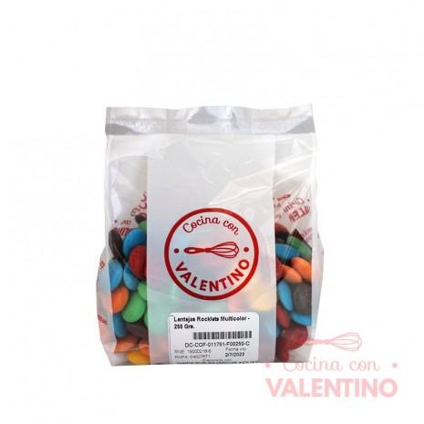 Lentejas Rocklets Multicolor - 250 Grs.