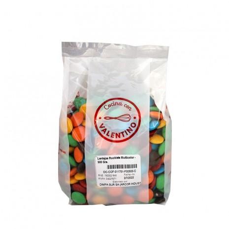 Lentejas Rocklets Multicolor - 500 Grs.