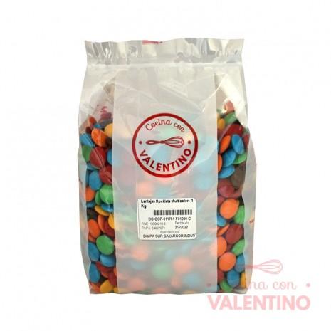 Lentejas Rocklets Multicolor - 1 Kg.