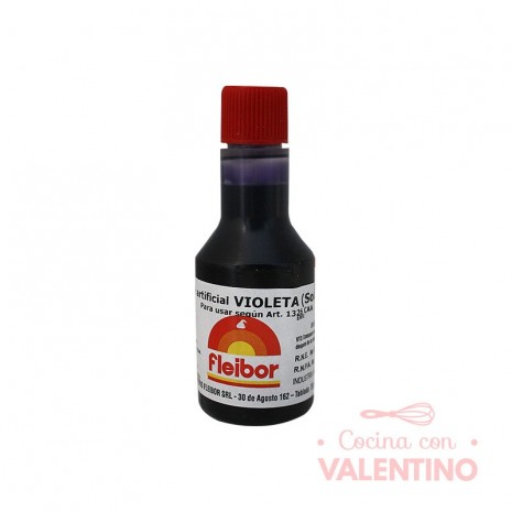 Colorante Fleibor Violeta - 30cc