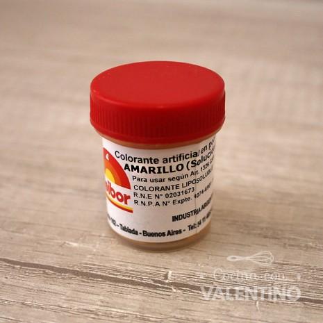 Colorante en Polvo Fleibor Amarillo - 5 Grs
