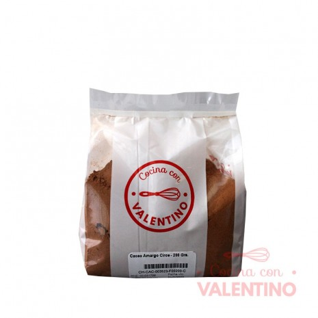 Cacao Amargo Circe - 200 Grs.