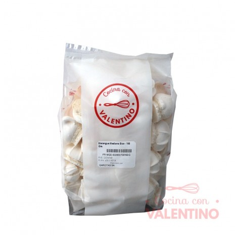 Merengue Mediano Bco - 150 Grs.