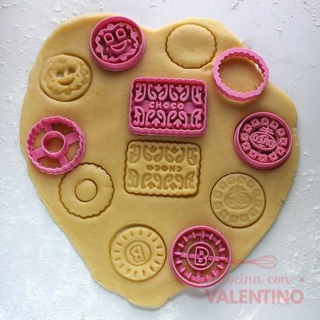 Cortante Set Cookies 4 Cm Cookie Kutter