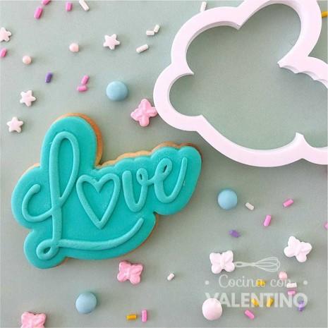 """Cortante +Sello """"LOVE"""" Ruphas"""