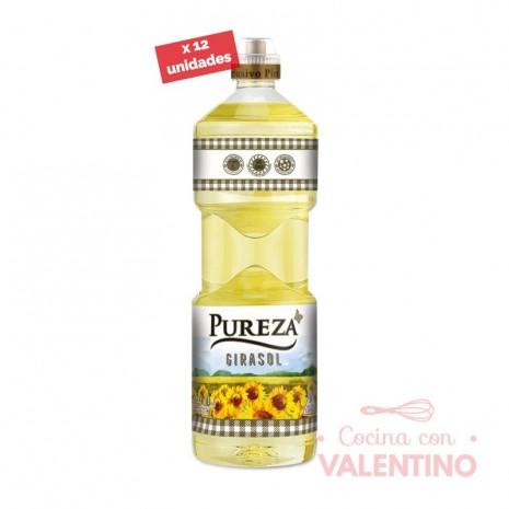 Aceite Girasol Pureza - 0.9Lt - Pack 12 Un.