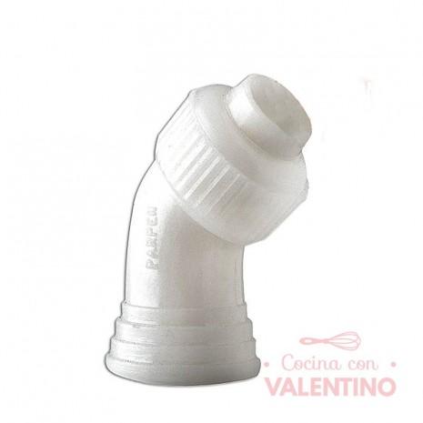 Acople Plástico Curvo