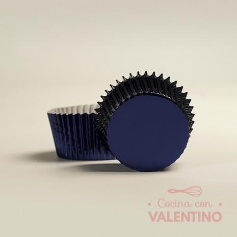 Pirotines N°10 Metalizado - Azul - 10u. MoldPack