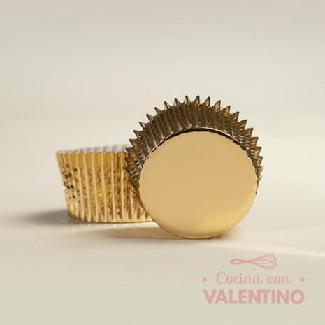 Pirotines N°10 Metalizado - Dorado - 10u. MoldPack