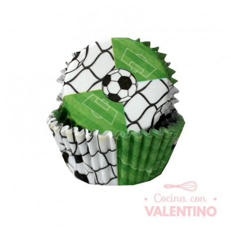 Pirotines N°10 Futbol - Verde - 25u. Convida