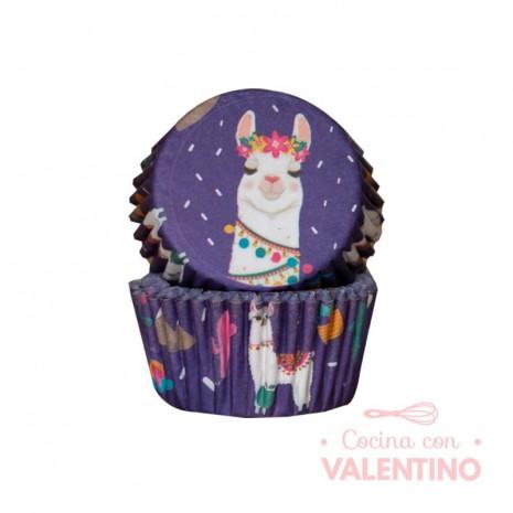 Pirotines N°10 Llama - Violeta - 25u. Convida