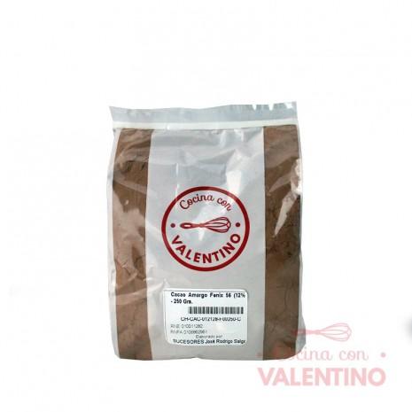 CacaoAmargoFenix56(12%mant.) - 250 Grs.