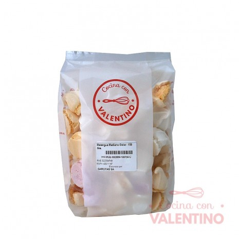 Merengue Mediano Color - 150 Grs.