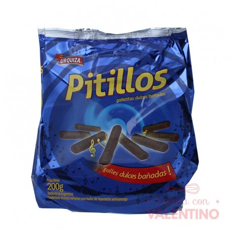 Pitillos Bañados Chocolate - 200Grs