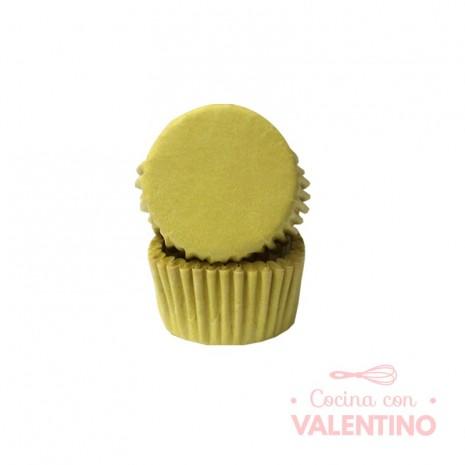 Pirotines N°8 Amarillo Pastel - 25u. Convida