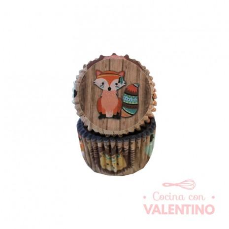 Pirotines N°8 Animalitos del bosque - Zorrito - 25u. Convida