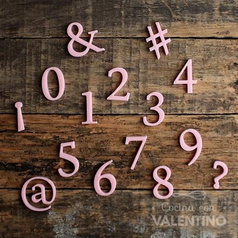 Numeros Type Lettering