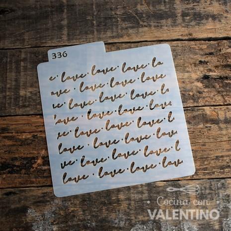 Stencil Love D2