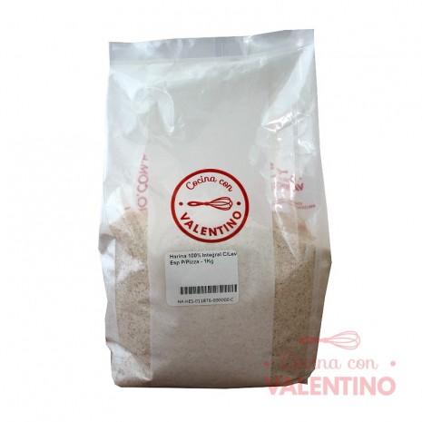 Harina 100% Integral C/Lev Esp P/Pizza - 1Kg