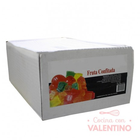 Fruta Escurrida Confitada Premiun - 10kg